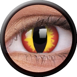 Dragon Eyes Daily Eye Accessories. Lenses are single use and include, 2 x lenses and care instructions.