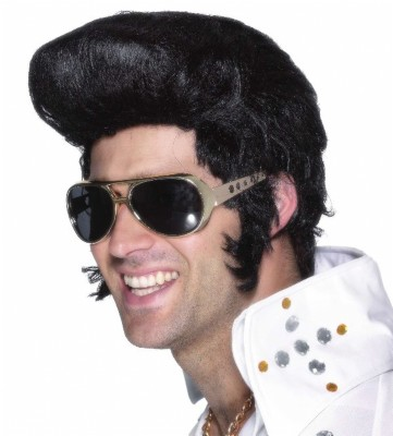 Gold Elvis 70's Style Shades