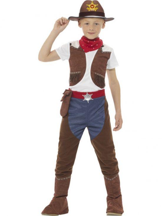 Elvis Costume - White - Child - Boys - 2 Piece £34.00  sc 1 st  Lili Bizarre & Deluxe Cowboy Costume - LiliBizarre
