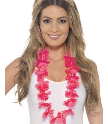 Hawaiian Lei, Neon Pink