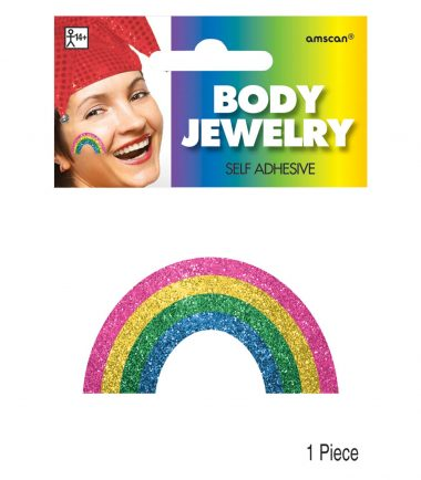 Rainbow Body Jewellery 12cm x 8.8cm