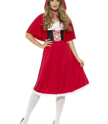 Red Riding Hood Costume, Long Dress
