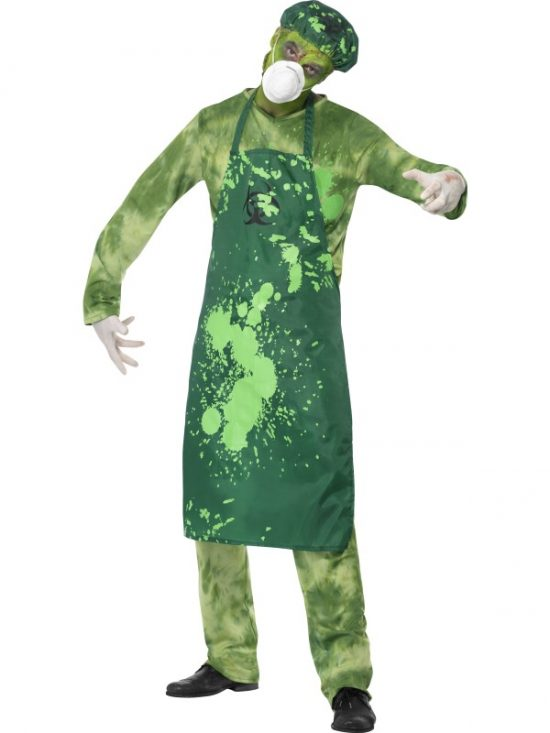 Biohazard Male Costume