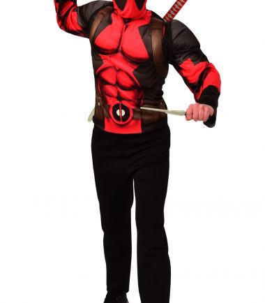 DeadPool Top And Weapon Kit