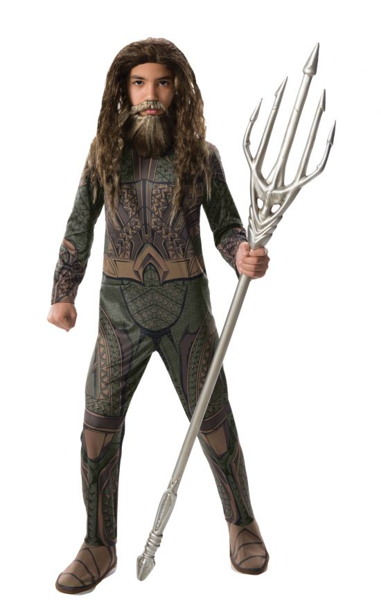 Child Aquaman Wig & Beard Set