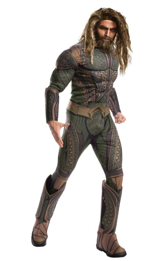 Adult Aquaman Wig & Beard Set