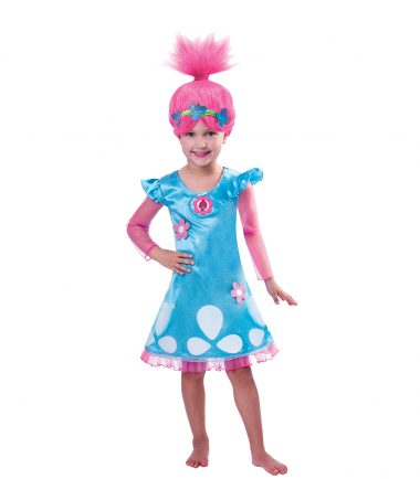 Trolls Girls Poppy Costume