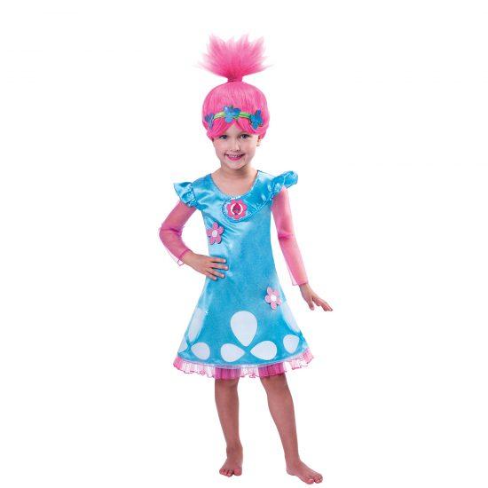 Trolls Girls Poppy Costume