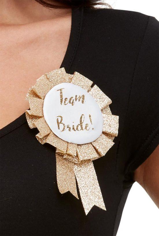 Team Bride Rosette