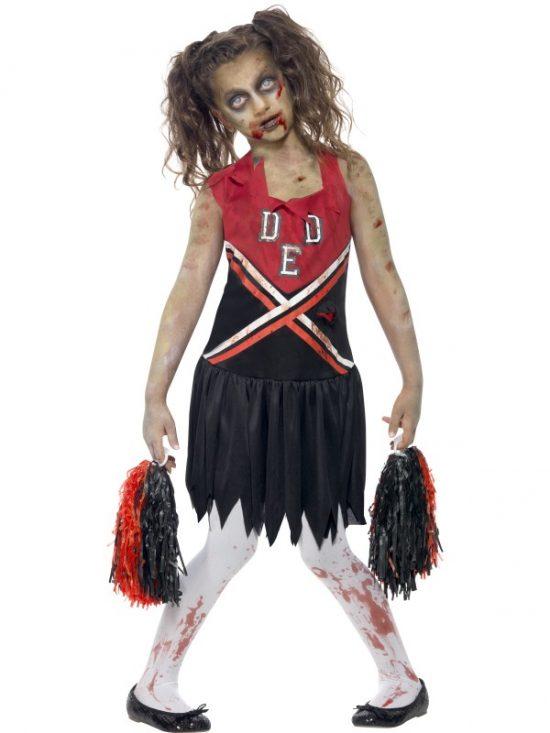 Girl's Zombie Cheerleader Costume