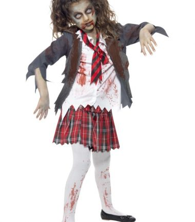 Children's Zombie School Girl Costume