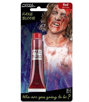 Red Fake Blood Tube