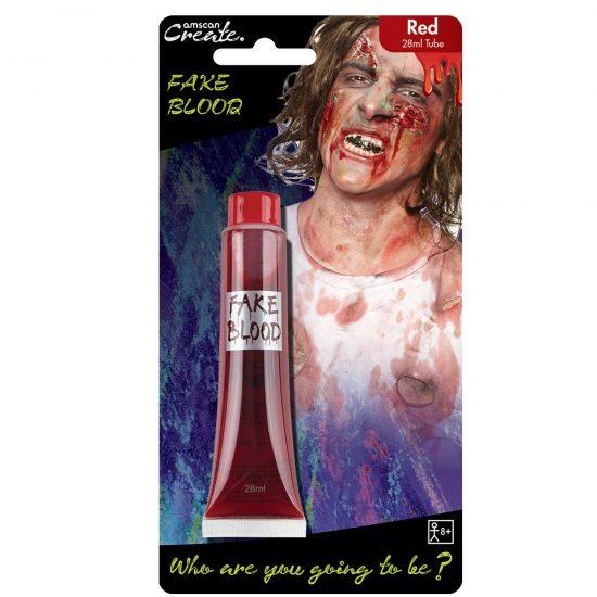 Red Fake Blood Tube