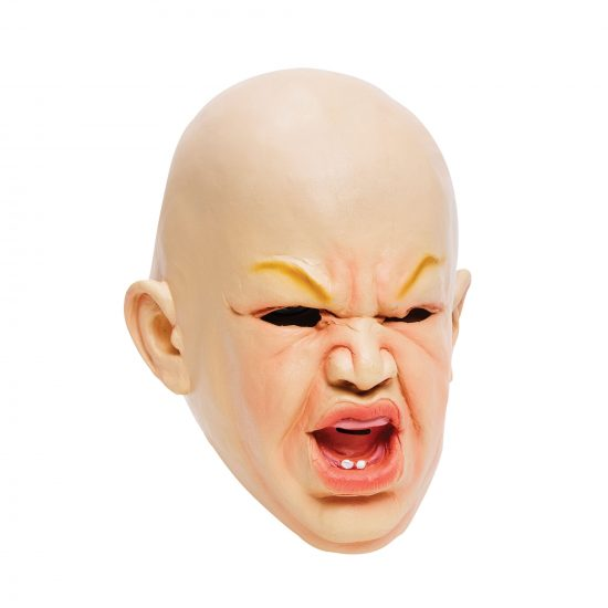 Scary Baby Latex Mask