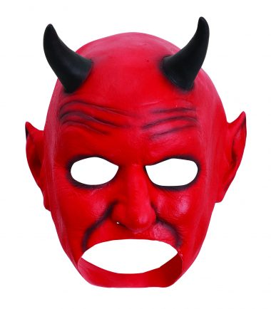 Devil Mask Half Face Latex