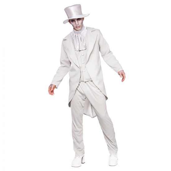 Ghastly Ghost Groom Costume
