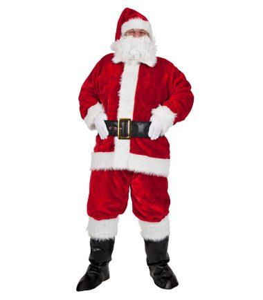Luxury Plush 8 Piece Santa