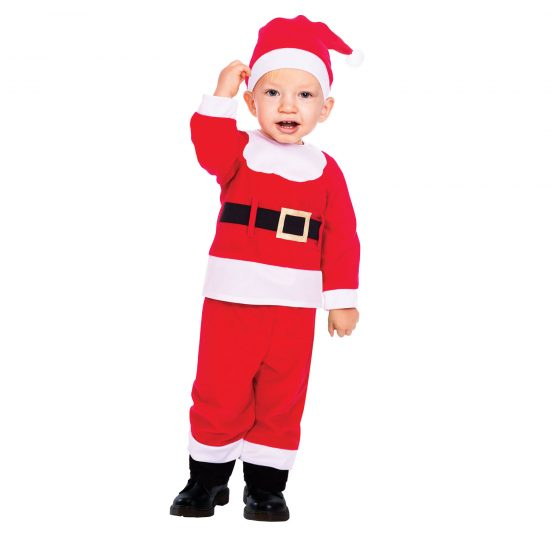 Santa Toddler Costume
