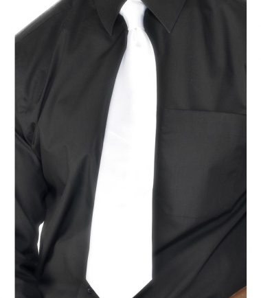 Deluxe White Gangster Tie