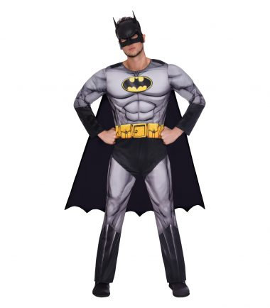 Batman Padded Jumpsuit Costume