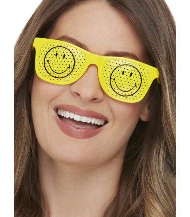 Smiley Rave Glasses