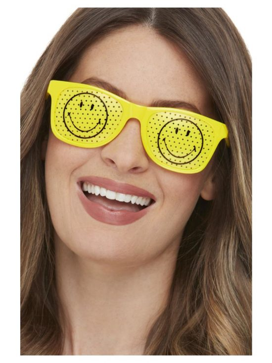Smiley Rave Glasses