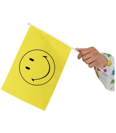 Smiley Small Handheld Flag