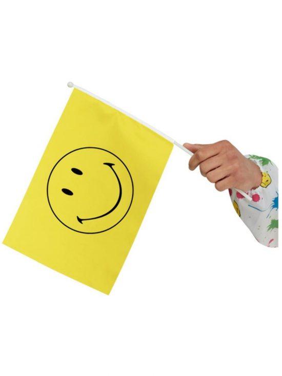 Smiley Small Handheld Flag