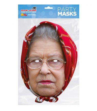Queen Face Mask Grumpy