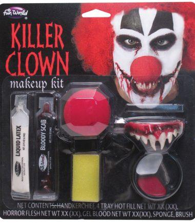 Killer Clown Make Up Kit
