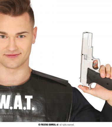 Silver SWAT Gun