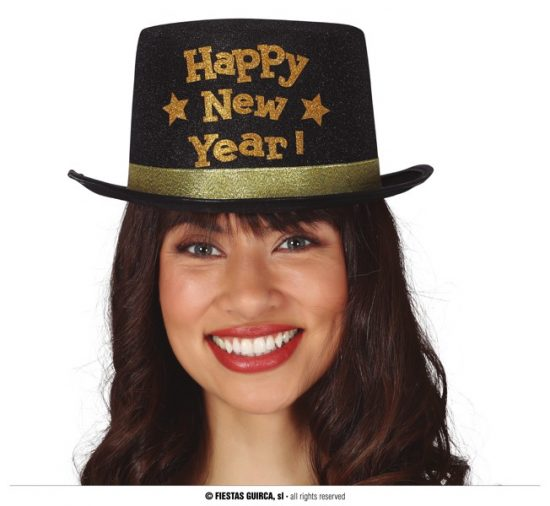 Deluxe New Year Top Hat