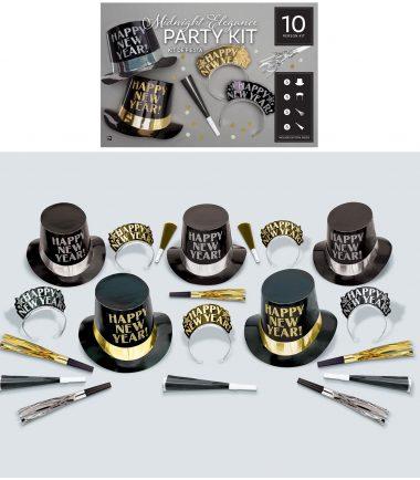 Midnight Elegance Party Kit