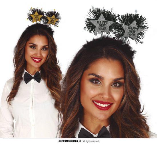 Happy New Year Gold Headbands