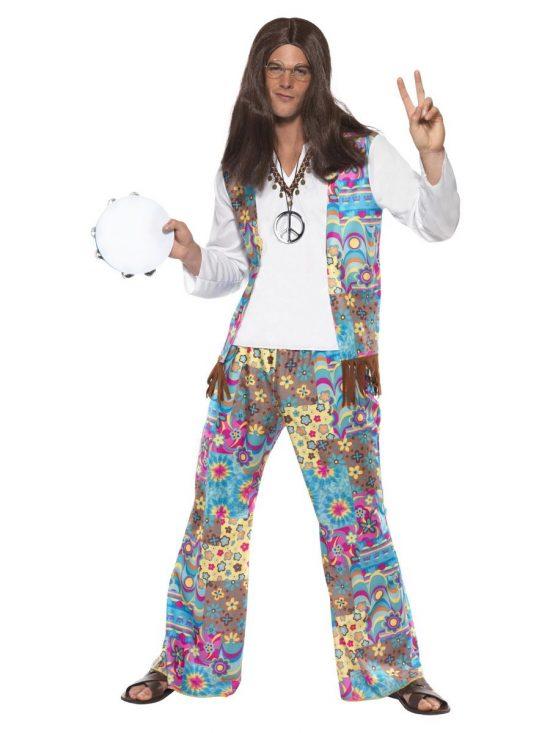 Groovy Hippie Adult Costume