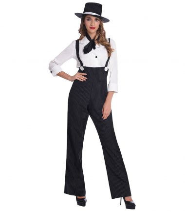 Gangster Woman Costume