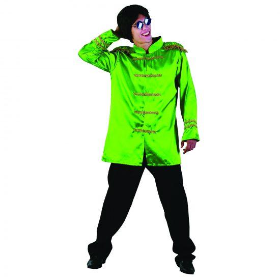 60's Musician Green Sgt Jacket