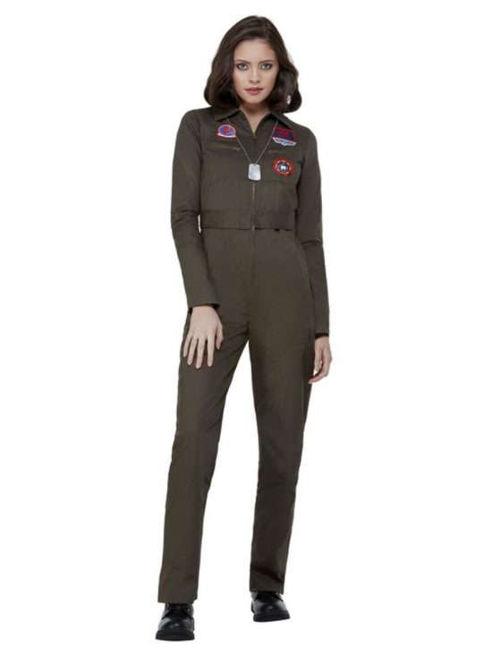 Top Gun Ladies Costume