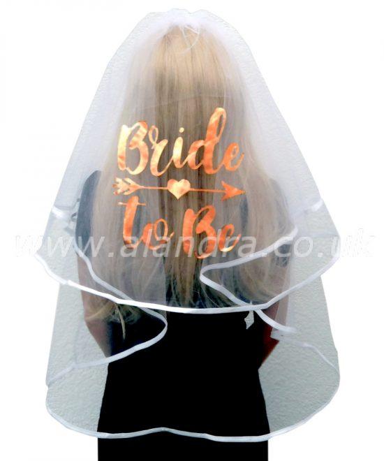 Luxury Bride To Be Veil
